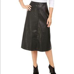 Alfani, Faux-Leather, Skirt